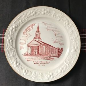 Vintage Church Plate: Walhalla, SC